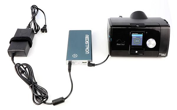 Medistrom A New Revolutionary Cpap Backup Power Supply